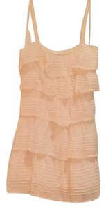 BCBGMAXAZRIA Lace Lace Trim Dress