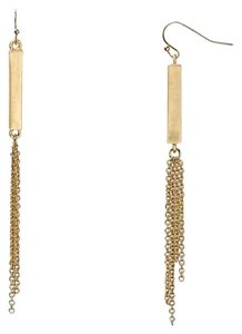 Dylan Gray Dylan Gray Tassel Bar Earrings