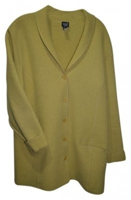 Preload https://item4.tradesy.com/images/eileen-fisher-light-chartreuse-wool-spring-jacket-size-20-plus-1x-41348-0-0.jpg?width=400&height=650