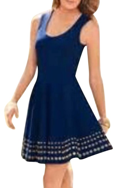 Preload https://item3.tradesy.com/images/boston-proper-blue-grommet-fit-and-above-knee-night-out-dress-size-8-m-4134952-0-3.jpg?width=400&height=650