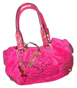 Juicy Couture Satchel in Fuschia