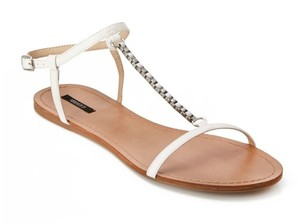 5ebb43eb946d3f White Forever 21 Sandals - Up to 90% off at Tradesy