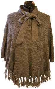 For Joseph Shawl Fringe Hem Sweater