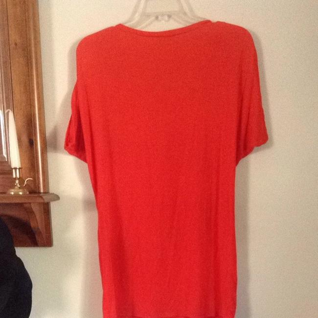 Red Haute T Shirt Tangerine