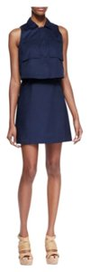 Theory short dress Navy (uniform) on Tradesy