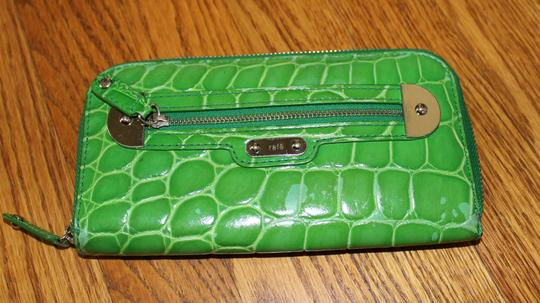 Rafe Shiny Croc Wallet