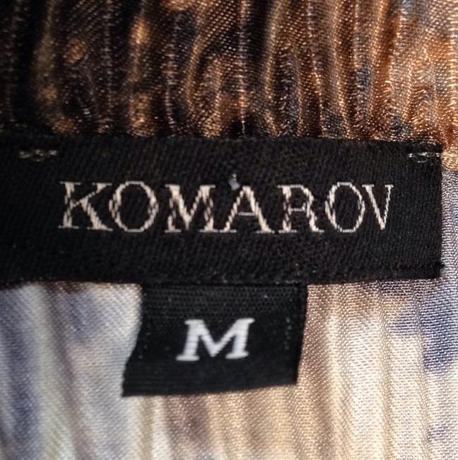 Komarov Top Black, gray, cream, lt. brown
