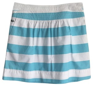 Lacoste Skirt Blue/White Stripe