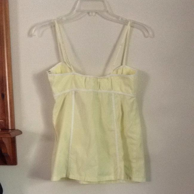 Gap Top Yellow And White