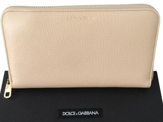 Preload https://item3.tradesy.com/images/dolce-and-gabbana-dolce-and-gabbana-leather-zip-wallet-light-beige-4136827-0-0.jpg?width=440&height=440