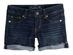 American Eagle Outfitters Denim Shorts-Dark Rinse