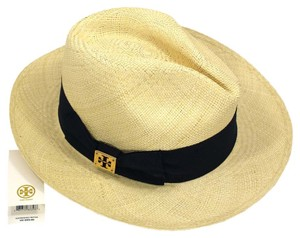 Tory Burch TORY BURCH CLASSIC GROSGRAIN FEDORA HAT IN TORY NAVY