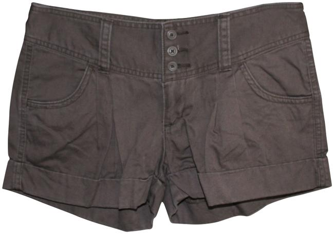 Item - Brown Pleated Shorts Size 4 (S, 27)