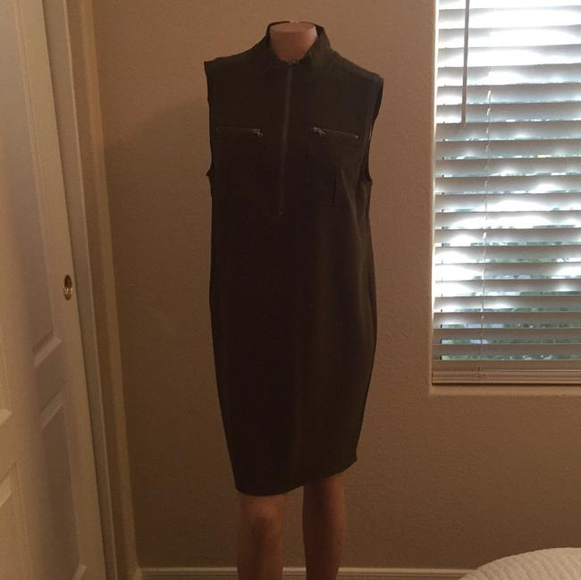 Haute Hippie short dress Olive green on Tradesy