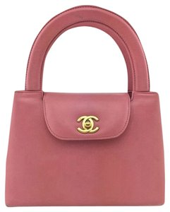Chanel Lambskin Leather Tote in Pink