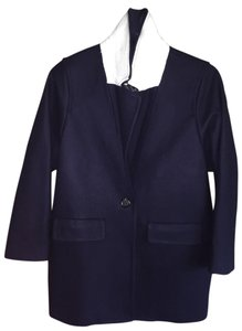 J.Crew Boyfriend Wool Color-blocking Trench Coat