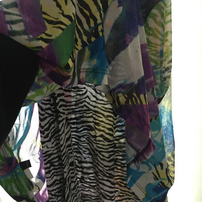Multi colored Maxi Dress by Lynn Ritchie Maxi Summer Outfit Zebra