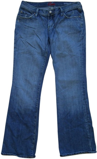 Item - Made In Usa Mid-rise Comfort Weekender Boot Cut Jeans Size 30 (6, M)