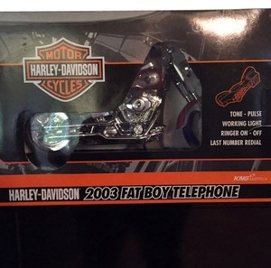 Harley Davidson 2003 Fat Boy Telephone Harley,Davidson,2003,Fat,Boy,Telephone