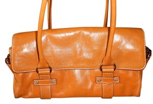 Michael Kors Satchel in luggage tan