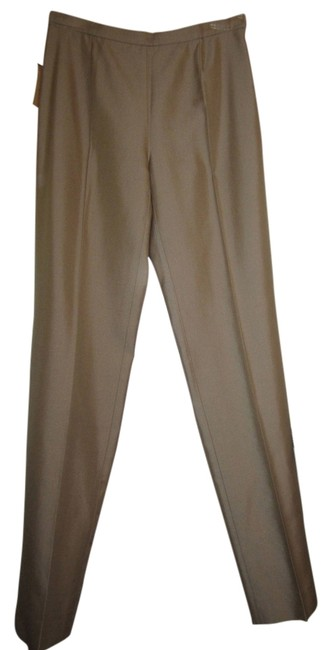 Michael Kors Straight Pants Beige