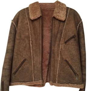 Made in Argentina 100% shearling Leather Jacket