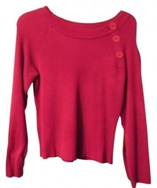 Preload https://item1.tradesy.com/images/berry-sweaterpullover-size-8-m-41385-0-0.jpg?width=400&height=650