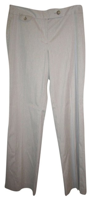 Ann Taylor LOFT Boot Cut Pants Gray