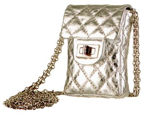Chanel WOC Wallet On A Chain Mini Reissue 2.55 Quilted Flap CC Crossbody Bag