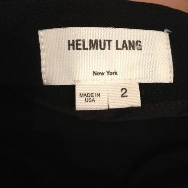 Helmut Lang Drapped Assymetrical Skirt Black