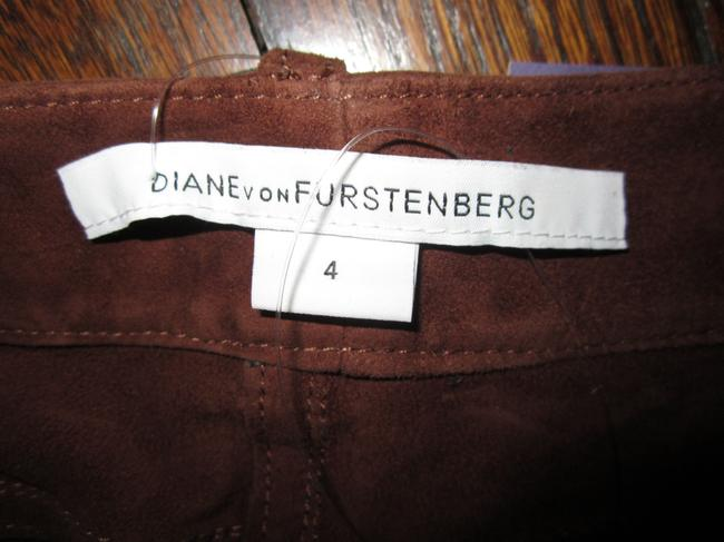 Diane von Furstenberg Cuffed Shorts Brown