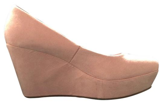 Divided by H&M Pink, blush Wedges