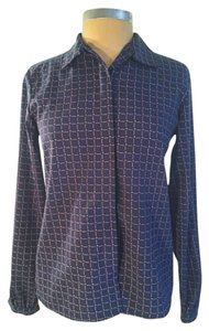 Dior Casual Business Formal Top Blue
