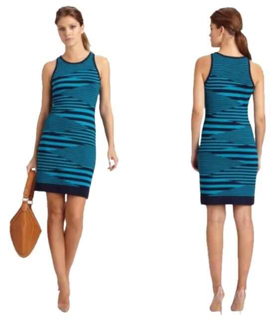 MILLY short dress Aqua on Tradesy