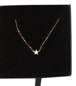 Poppy Finch Poppy Finch Lucky Star 14t yellow Gold Necklace