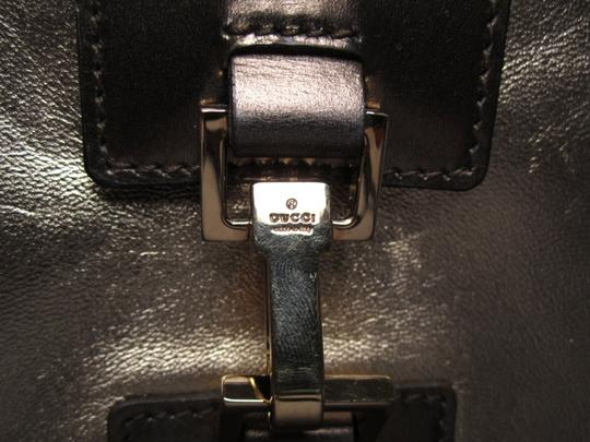 Gucci Cross Messenger Leather Shoulder Bag