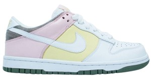 Nike Sneakers Running Pink Yellow & White Athletic