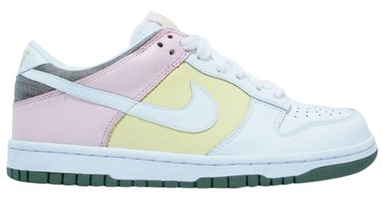 Nike Sneakers Running Jordan High Tops Rosche Lebron Coach Gucci Ugg Yeezy Boost Fitsole Pink Yellow & White Athletic