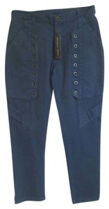 Theory Capri/Cropped Pants Blue