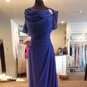 Jade Couture Cobalt Dress