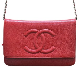 Chanel Caviar Leather Woc Handbag Shoulder Bag
