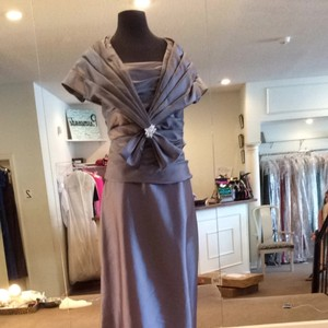 Jade Couture Platinum Dress