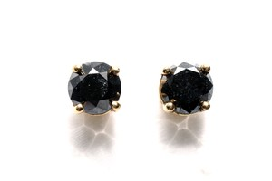 Other Black Diamond Stud Earrings