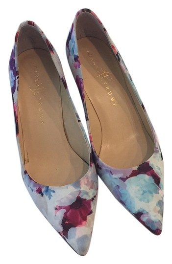 Ivanka Trump Floral print multi Pumps