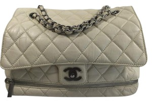 Chanel Quilted Expandable Shoulder Bag
