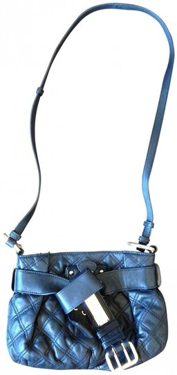 Marc Jacobs Kristina Quilted Leather Designer Couture Cross Body Bag