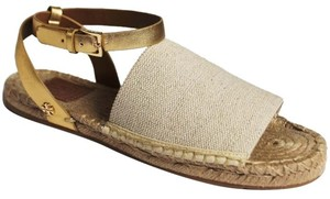 Tory Burch NATURAL GOLD 131 Sandals