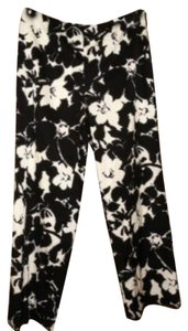 Talbots Trouser Pants Black and cream