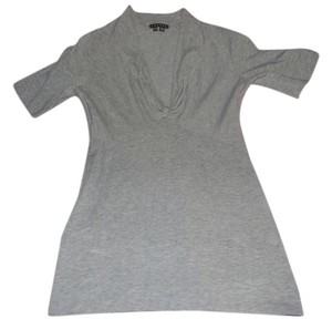 Theory Shirt Basic Classic T Shirt Gray