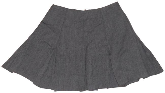 Item - Gray Vintage 80s Tweed Pleated Skirt Size 00 (XXS, 24)